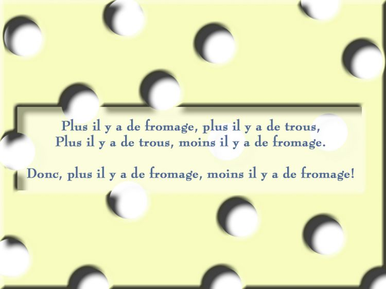 histoire drole fromage