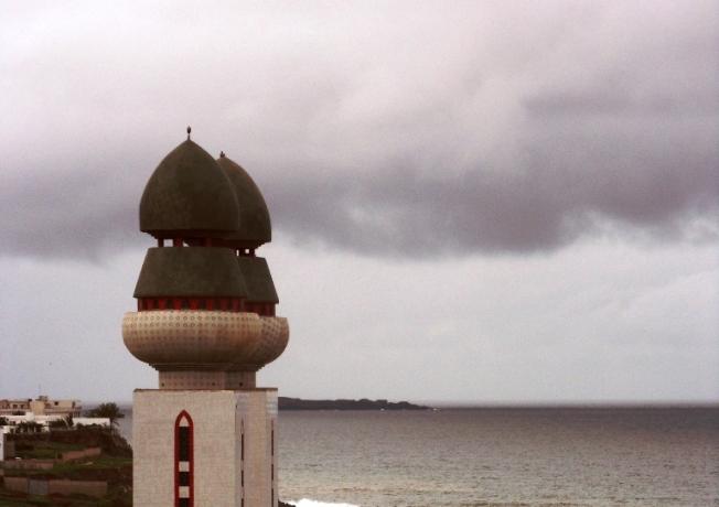 Mosquée de la Divinité , un jour de pluie