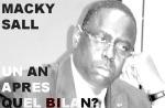 Macky sall saison 1…quelbilan?